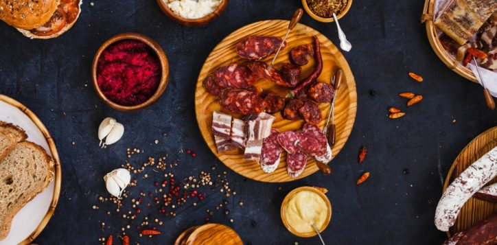 stock-photo-typical-spanish-tapas-with-pancetta-salami-chorizo-lomo-with-mustard-beetroot-and-horseradish-444730093-2